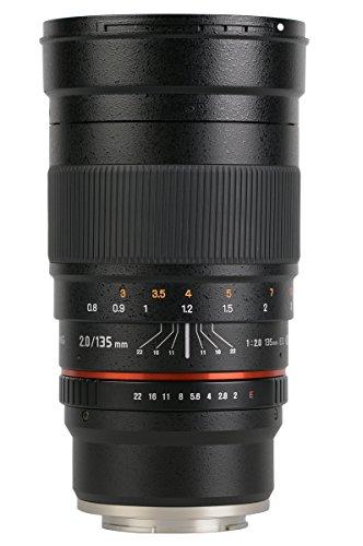 Samyang 135mm F2.0 Objektiv für Anschluss Canon M
