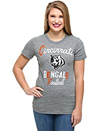Junk Food Womens Cincinnati Bengals Touchdown Tri-Blend T-Shirt