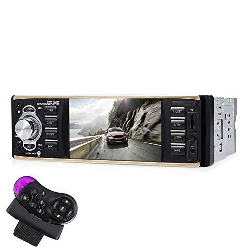 YKXY 4,1-Zoll-Auto-Mp4-Kartenmaschine Auto-Mp5-Player UnterstüTzen Bluetooth-Freisprecheinrichtung Umgekehrte PrioritäT
