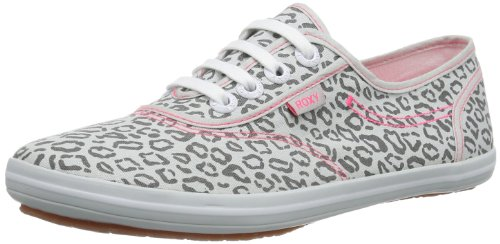 Roxy CONNECT J SHOE STL ERJS300007-STL Damen Sneaker, Grau (STEEL), EU 38 (Roxy Schuhe Canvas)