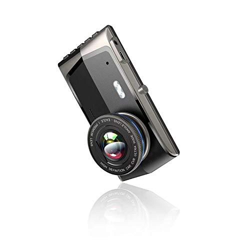Lynn025Keats 4-Zoll-Touch-Screen Dual-Aufnahme Nachtsicht Fahren Recorder 2.5D Hd Location Recorder