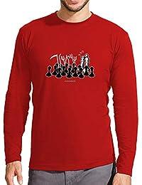 latostadora - Camiseta Jaque Mate Manga Larga para Hombre 34d87d7c6b9