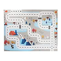 jigang Children Play Mat Simulation Car Traffic Parking Map Puzzle Game Pad