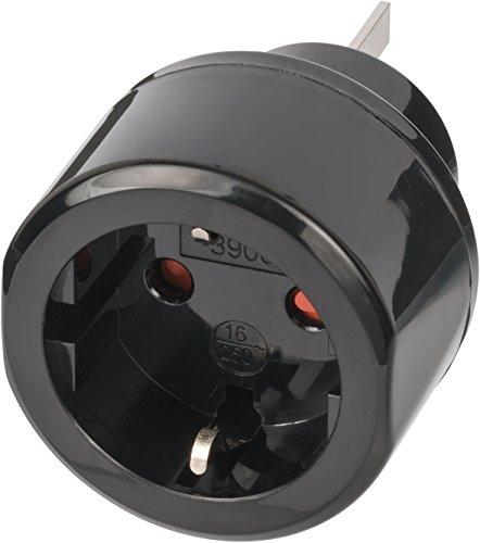 Brennenstuhl Reisestecker/Reiseadapter (Reise-Steckdosenadapter für: Australien, China Steckdose und Schutzkontakt-Stecker) Farbe: - Australien Für Reise-adapter