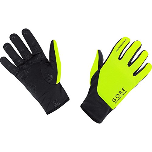 Gore Running Wear Essential Windstopper Soft Shell - Guantes de Running, color negro, talla 7