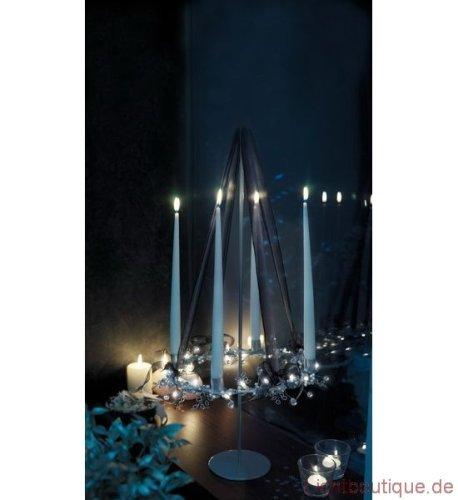 Herstal Leaf Kerzenständer mit 20 Leuchten+für 4 Kerzen
