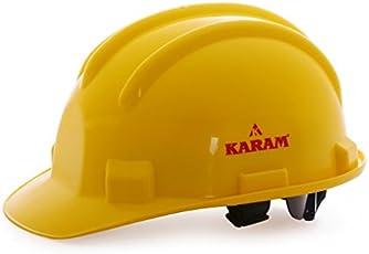 Karam Safety Helmet (Shelmet) Yellow Ratchet Type PN521