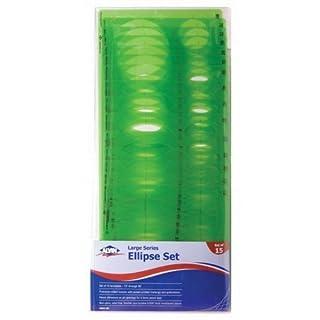Alvin 3903-02 Temp. Ellipse - Set Of 15