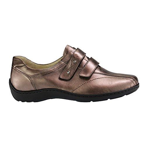 Foresta Runner in velcro Schuh Henni, colore: marrone metallizzato Gold
