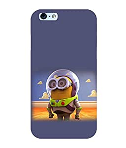 Printtech Minion Lightear Shockproof Back Case Cover for Apple iphone 6/6s