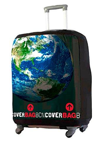 Fodera per Valigia. Cover Prottetiva per Valigia Terra (LARGE per valigia tra 60-67 cm)