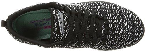 Skechers Sport Womens Empire Connections Fashion Sneaker Black