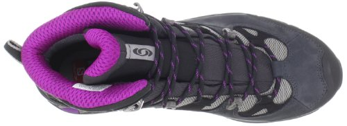 Salomon Comet 3d, Chaussures de  Football femme Multicolore (Pewter/Asphalt/Anemone Purple)