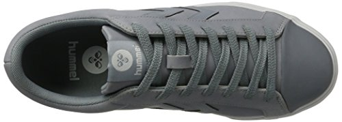 Hummel Baseline Court, Sneakers Basses Homme Gris (Tradewinds)
