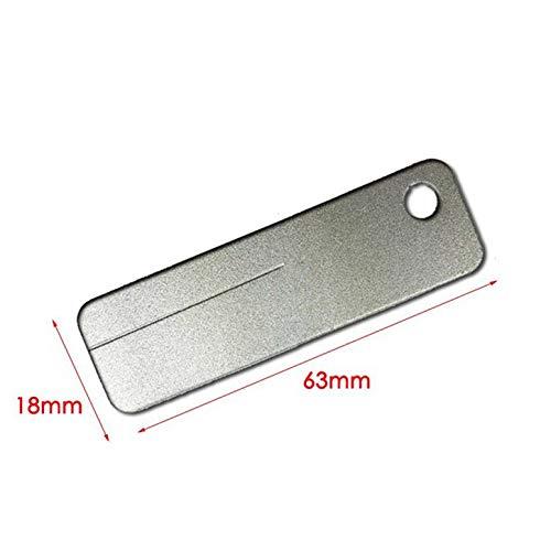 EDC Tasche Diamant Stein Spitzer Schlüsselbund für Messer Angelhaken Finger Nagelfeile Outdoor Camping Spitzer Werkzeug Key Chain Sharpener