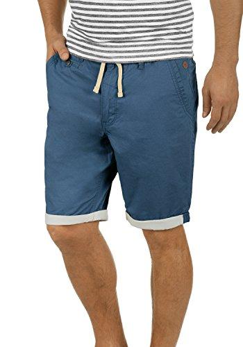 Blend Kankuro Herren Chino Shorts Bermuda Kurze Hose Mit Kordel Aus 100% Baumwolle Slim Fit, Größe:XL, Farbe:Ensign Blue (70260)