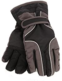 Childrens/Kids Heavy Duty Waterproof Padded Thermal Ski/Winter Gloves