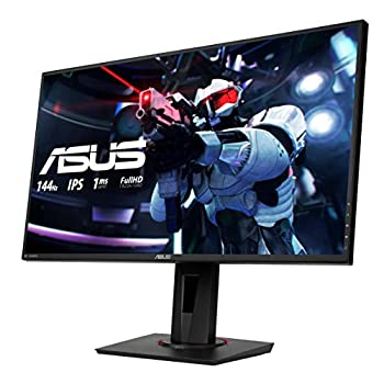 ASUS VG279Q 27'' FHD (1920 x 1080) Gaming Monitor, IPS, 144 Hz, 1 ms MPRT, DP, HDMI, DVI, FreeSync, Filtro Luce Blu, Flicker Free, Certificazione TUV