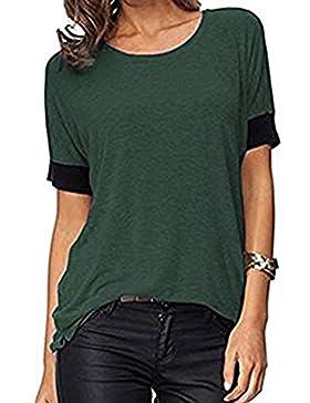 Elfin Camiseta - Básico - Cuello Redondo - para Mujer