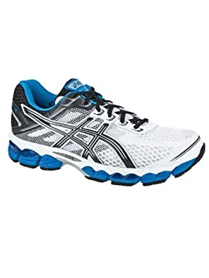Asics Men's Running Shoes Noir (Black/White)