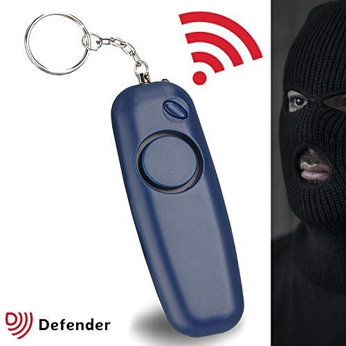 Alarma Personal Defender qubz Police aprobado 130dBs - Marina