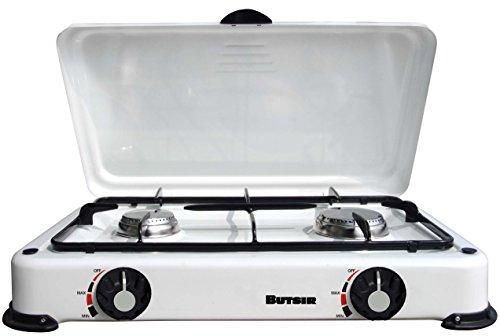 Butsir cebc0018–Küche, emailliert, 2flammig, mit Deckel