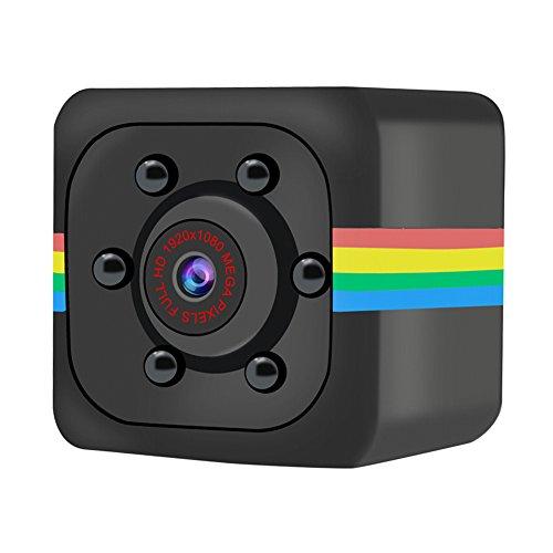 SQUAREDO 1080P Super Mini caméra DVR DVR DV, Petite caméra Espion sans Fil avec enregistreur vidéo Détection de Mouvement