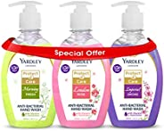 Yardley Antibacterial Handwash 2+ 1 Free With 100% Germ Protection 250 ml