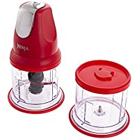 Ninja Professional Stackable Chopper 200W - NJ1002UKRD - Red