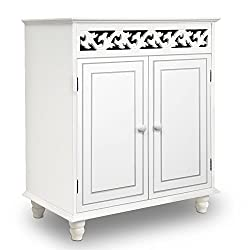 White Wooden Cabinet Cupboard Sideboard