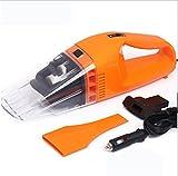 AMYMGLL Multifunzionale aspirapolvere auto ultra-alta potenza umido e vuoto a secco tensione pulitore 12 (V) Potenza 100W (W) materiale ABS circa 450 centimetri Linea Blu e arancione , orange transparent