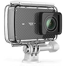YI 4K Plus Action Camera con Custodia Impermeabile 4K/60fps Nero