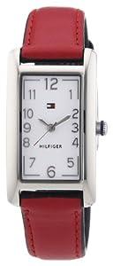 Reloj Tommy Hilfiger 1781112 de cuarzo para mujer con correa de piel, color rojo de Tommy Hilfiger