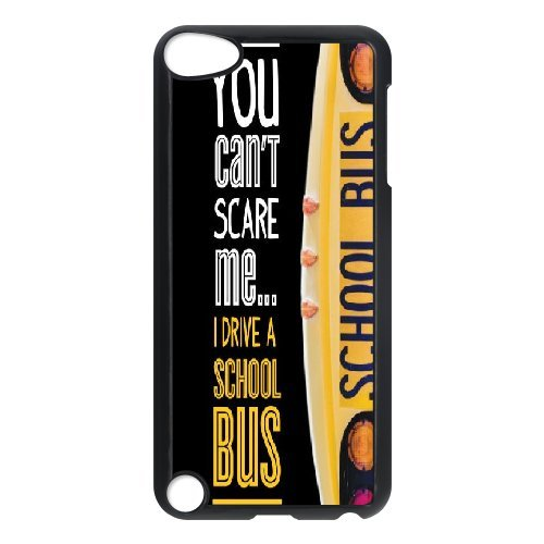 Custom School Bus Phone Case, DIY School Bus Case for iPod Touch 5 Bus-ipod