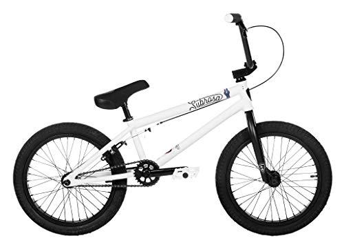 Subrosa Bikes Tiro 18 2019 BMX Rad - Satin White   18 Zoll   Weiss