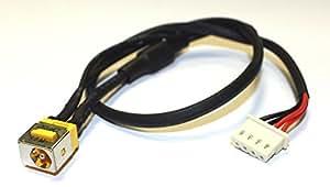 Acer Aspire 6930G Kompatibel Netzteilbuchse Strombuchse mit Kabel