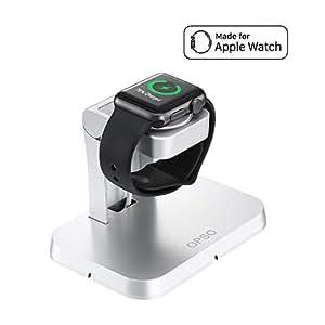 [Apple MFi Certified] Apple Watch Chargeur, OPSO Station de chargement magnétique et Stand pour Apple Watch / iWatch 38mm et 42mm avec câble de chargement magnétique détachable - 3.3Feet (1 Meter)