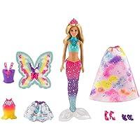 Barbie FJD08 Dreamtopia Doll and Fashions Set, Multi-Colour