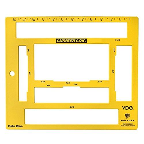 Tri-Vise LLDSY-01 12-Inch Steel Lumber Lock Vise by