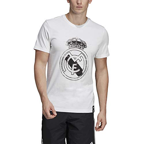 Adidas real dna gr tee, t-shirt uomo, white, m