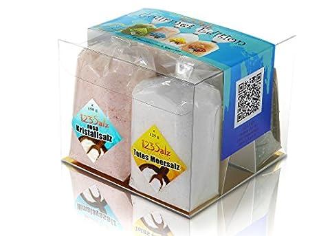 123Salz Gourmet Edition, 4 Salze von 4 Kontinenten in der