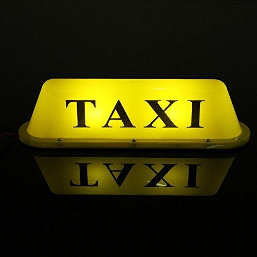 mfpower Wasserdicht Taxi Magnetfuß Dach Top Auto Cab LED Schild Lampe -