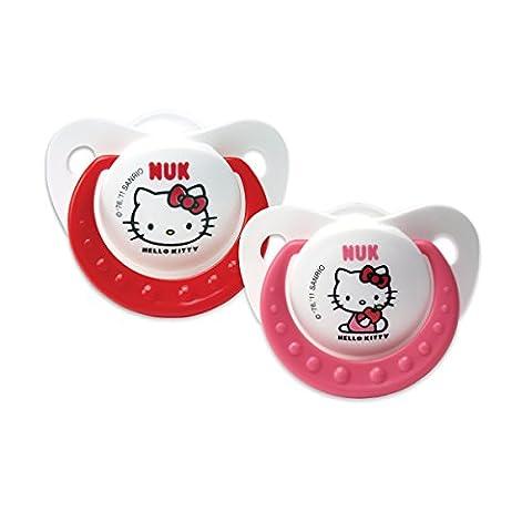 Silicone Tétine Sucette Tutute Hello Kitty 2e Age (6 - 18 mois)
