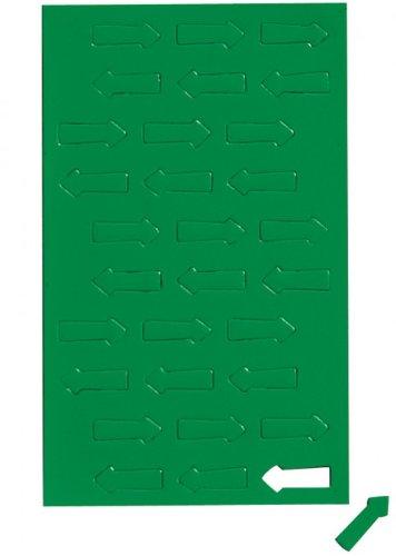 Grün Magnetsymbole Pfeil, Magnet für Planungstafel, Whiteboard, Grün