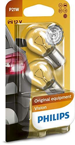 Philips 12498B2 Kugellampe Vision P21W