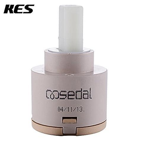 Generic Jaune: Kes Pc1s35/40de remplacement Poignée simple robinet cartouche disque en céramique Valve 35mm/40mm de diamètre, Sedal à partir d'Europe