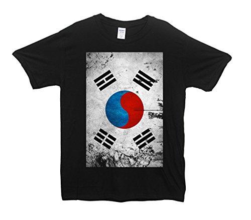 sideways-corea-del-sud-bandiera-grunge-design-maglietta-grigio-large