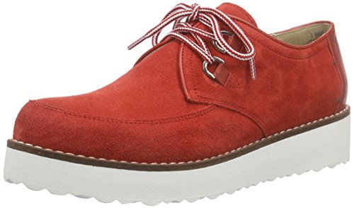 Marc Shoes Romy, Derby femme Rouge - Rot (red 650)
