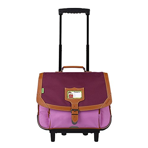 Trolley 38 violet-parme Tann's ICONIC