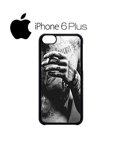 Tattoo Sexy Boy Guy Men Tatoo Tatto Peircing Mobile Phone Case Cover iPhone 6 Plus + Black Noir